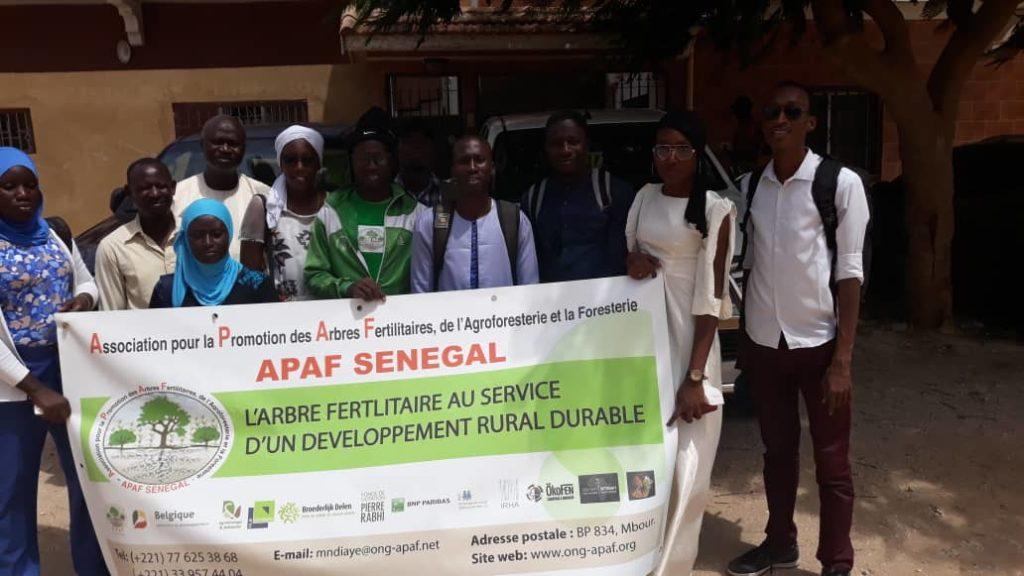équipe APAF Sénégal